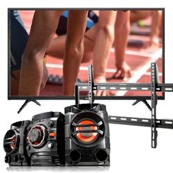 1060BF-TCL32+LG-Audio+R1600E-Wall mount